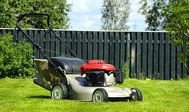 lawn mowing stoke