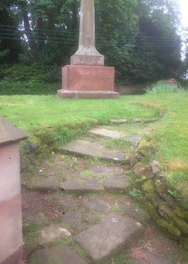 Eccleshall monument